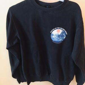 brandy sweatshirt